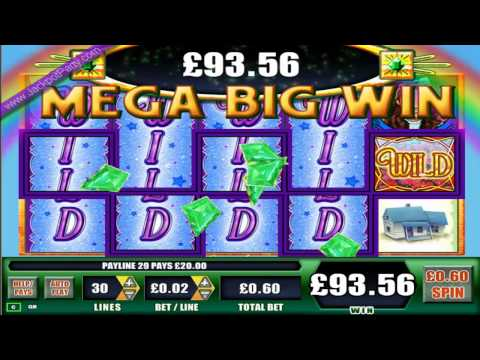 £415 MEGA BIG WIN (692 X STAKE) WIZARD OF OZ™ - JACKPOT PARTY® ONLINE FREE SLOTS BONUS GAMES