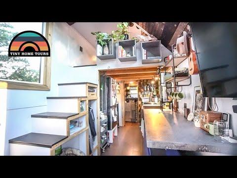 Couple Builds Stunning Diy Tiny Home Tiny House Expo