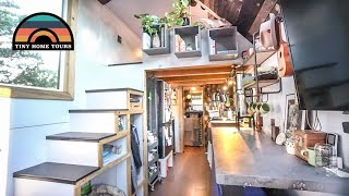 Couple Builds Stunning Diy Tiny Home - Tiny House Expo Award Winning Design