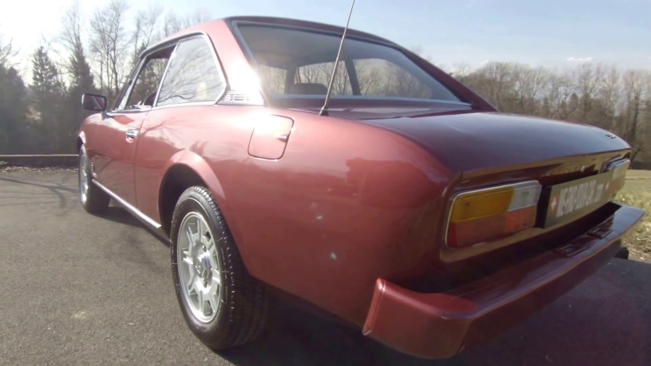 Peugeot 504 Ti Coupe V6 1979 Youtube
