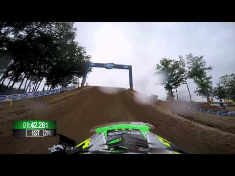 GoPro: Adam Cianciarulo Moto 2 - Budds Creek MX Lucas Oil Pro Motocross Championship 2015