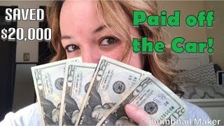 How to Save Money/How I Saved $20,000/Frugal Living in 2019-Part 1
