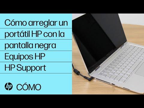 Cómo arreglar un portátil HP con la pantalla negra | Equipos HP | HP