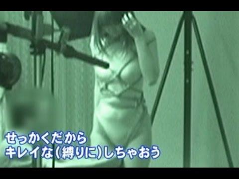 【驚愕】 Fカップ美女が縄で縛られるボンデージモデル体験