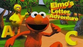 Sesame Street Elmo's PlayStation Journey Adventure Compilation