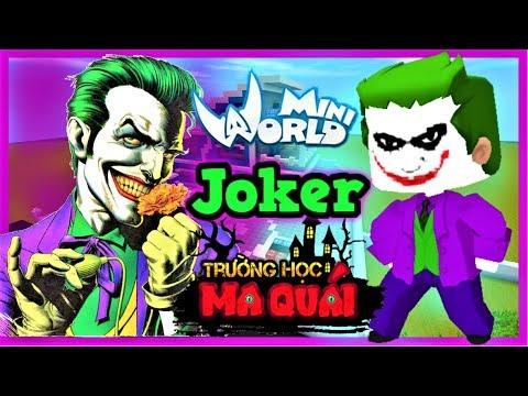 TRƯỜNG HỌC MA QUÁI: -tập 15- 1 ngày làm Joker | Thử thách 24h ăn trộm ngôi sao 1000 tỷ mini world