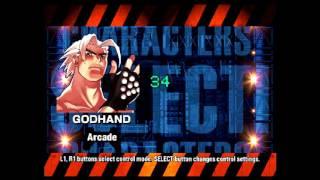 Ehrgeiz (PlayStation) Arcade Mode as Godhand