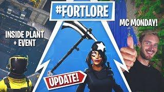 Fortnite Update! Pressure Plant Opened, Monster SOON, Shadow Skins!