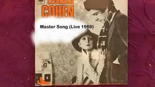 Master Song   Leonard Cohen Live 1969
