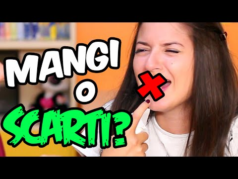 LO MANGI O LO SCARTI CHALLENGE! #1