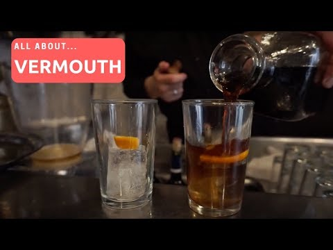 How to make a vodka martini with sweet vermouth