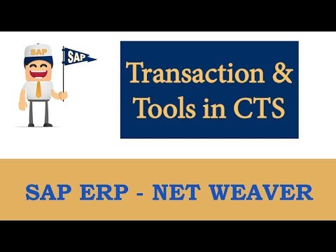 Transport System- Transaction and Tools in CTS  - Part 8 |