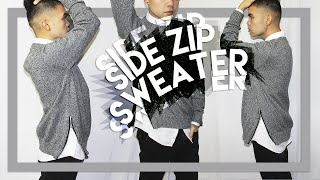 DIY: Side-Zip Sweater (Last DIY of the Year!!) Happy 2015! Thumbnail