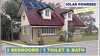 2 BEDROOMS NA BAHAY AT SOLAR POWERED BY IMPERIAL HOMES