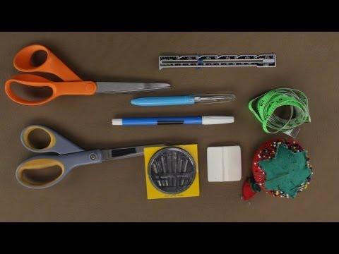 Beginner's Sewing Tools