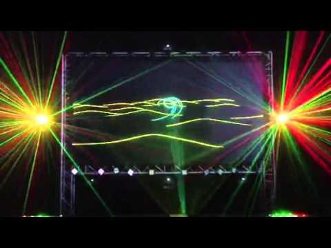 Musikmesse 2013 Orientalische Lasershow.