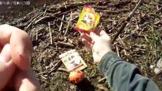 Видеоотчет о ловле рыбы на китайские бойлы и прикормку с Алиэкспресса  Великий Новгород 8 мая 2016