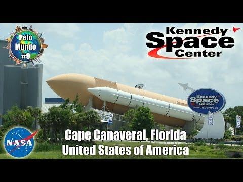 #09 Pelo Mundo Com Angelo Persona & Priscilla - Kennedy Space Center NASA (Cape Canaveral, FL - USA)