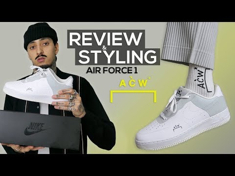 A COLD WALL AIR FORCE 1   HOW TO STYLE AF1