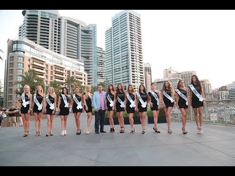 Miss Tourism Universe 2017 1st week in Lebanon