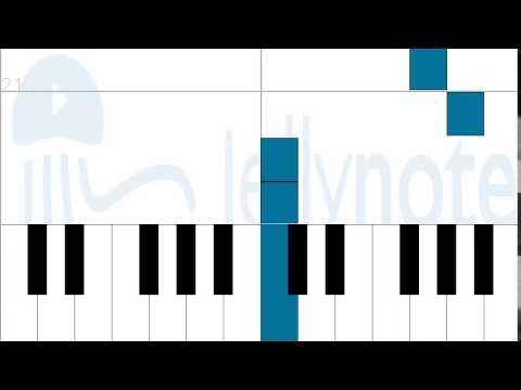 How to play Evidence - OP 7 by Fairy Tale on Piano Sheet Music