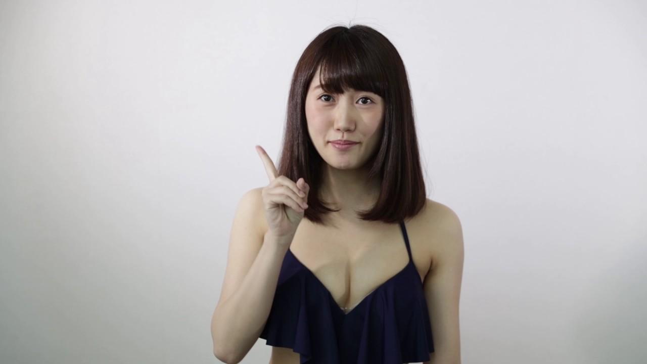 夏帆 「ミスFLASH2018」エントリー/福江夏帆