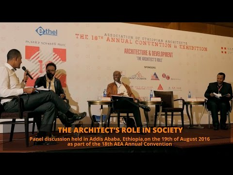 The architect's role in society