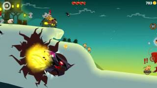 Dragon Hills - level 500 run (Game by Rebel Twins )Android