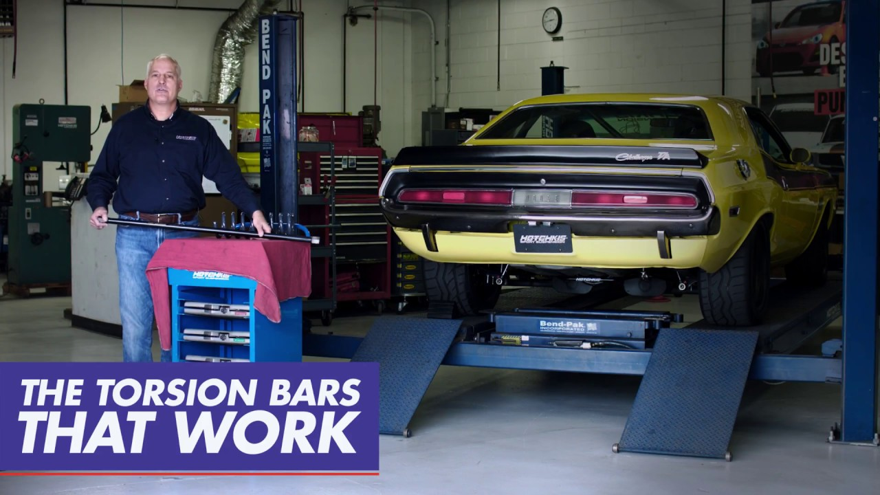 Performance Torsion Bars for Mopar B&E Bodies, #19367 by Hotchkis Sport  Suspension
