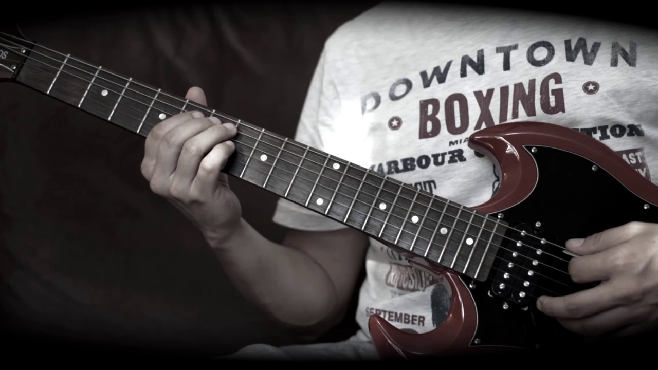 don 39 t let me down guitar solo lesson with tabs youtube. Black Bedroom Furniture Sets. Home Design Ideas