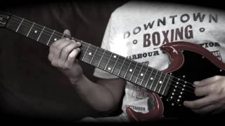 Don't Let Me Down guitar solo lesson with tabs