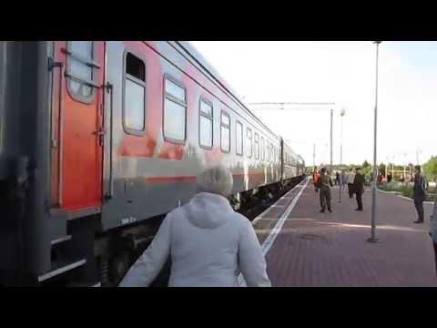 Прибытие 141 Москва - Льгов на ст. Михайловский Рудник