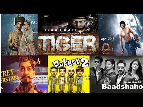 Bollywood upcoming movies 2017, Aamir Khan, Salman Khan, Shahrukh Khan, Akshay Kumar