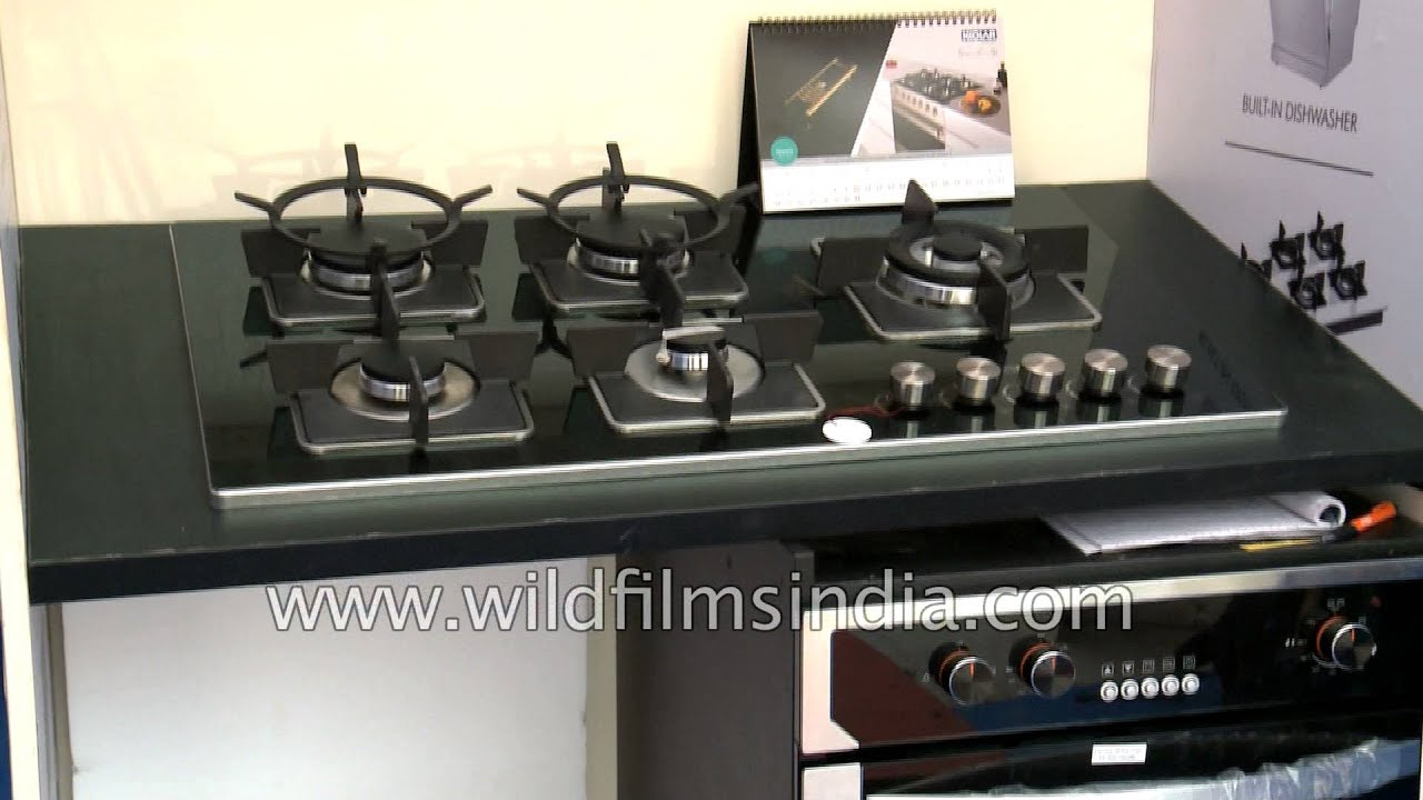 Indian retail: High-end gas stoves sold in India