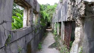 DJI Phantom 2 Vision Plus - ( Old japanese Jail ) in Northern Mariana Islands , U.S.A.