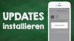 iPhone, iPad Updates installieren - iOS Geräte (iPhone, iPad, iPod touch) updaten, Anleitung Deutsch