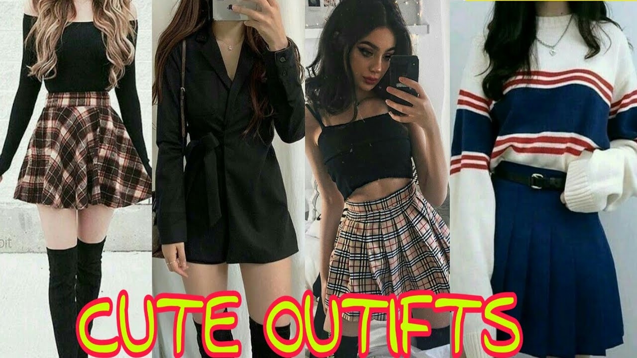 LATEST 20 TOP 20 CUTE OUTFITS FOR TEENAGE GIRLS..   YouTube