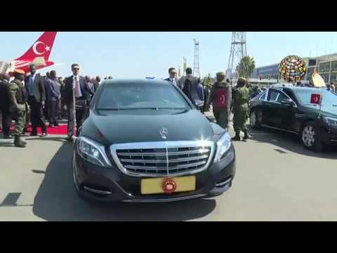 Recep Tayyip Erdoğan Zambiya'da / TAMAMI
