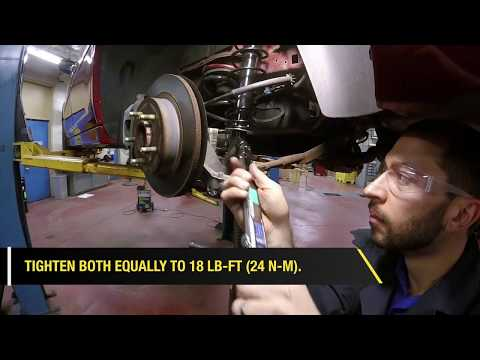 How to Install a Monroe Conversion Kit on a Buick Lucerne