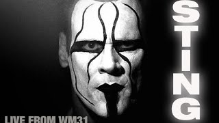 Sting at Wrestlemania 31 (Workout and Training Advice)