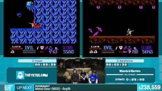 Wizards & Warriors by feasel and DarkTerrex in 18:48 - Summer Games Done Quick 2015 - Part 47