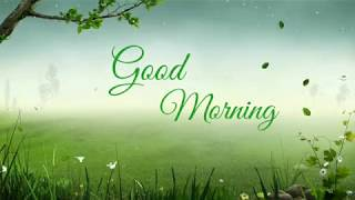 Good morning status | Animation | Good morning videos for whatsapp