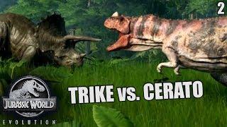 Jurassic World Evolution Deutsch #2 ► Trike vs. Cerato ◄ | Let