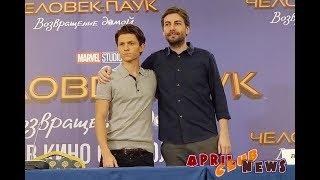 """Пресс-конференция фильма """"Человек-паук: возвращение домой"""""""