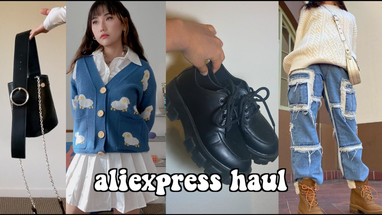 Aliexpress Haul! ($300 worth of clothes, bags, shoes!)