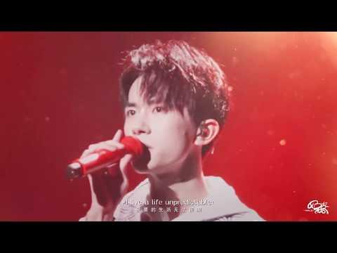 【TFBOYS易烊千玺】17岁生日会歌曲《Unpredictable》多角度特写字幕版 收音俱佳!饭拍Fancam【Jackson Yee】