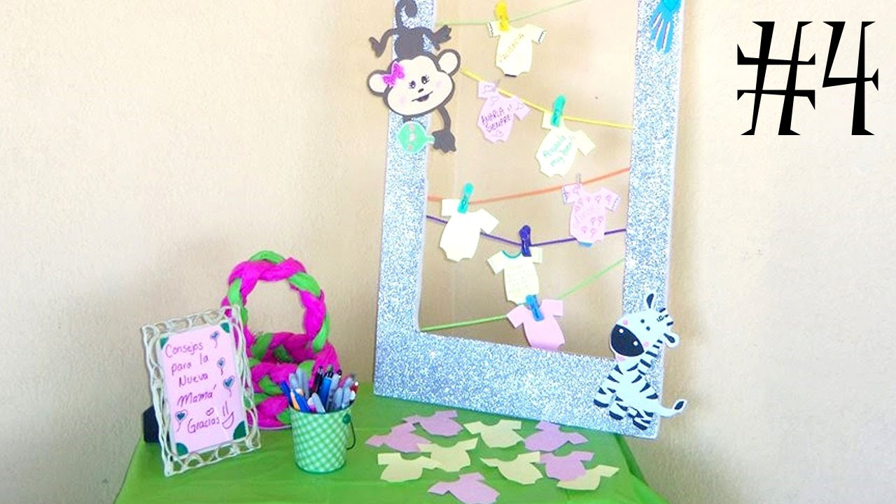 decoraci n mesa de bienvenida combo baby shower video 4 youtube