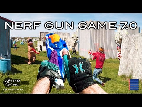 Nerf meets Call of Duty: Gun Game 7.0 | First Person in 4K!