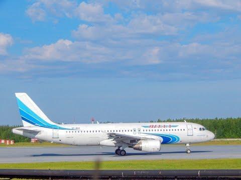 TRIP REPORT| Yamal Airlines|A320 Full Flight Experience|Nizhnevartovsk-Simferopol