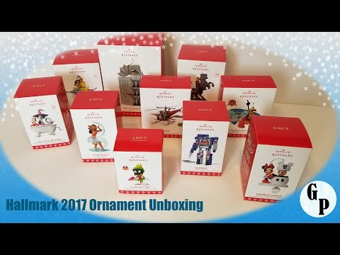 Hallmark 2017 Ornaments Unboxing: Looney Tunes, Harry Potter, Disney, and More!